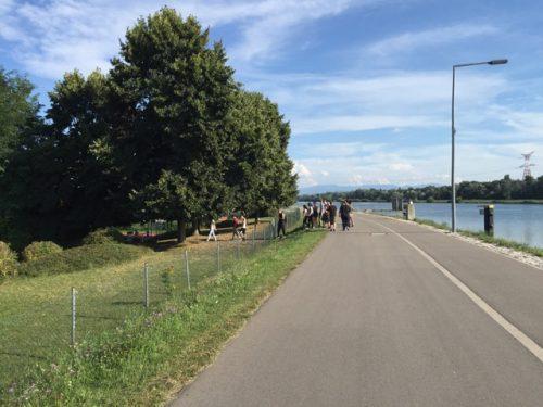 Die Jugendherberge am Rhein